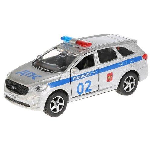 Купить Легковой автомобиль ТЕХНОПАРК Kia Sorento Prime (SB-17-75-KS-P-WB) 12 см серебристый, Машинки и техника