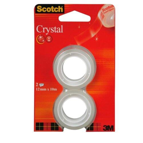 Scotch Лента клейкая Crystal 6-1975R2 scotch scotch greatest hits remixes