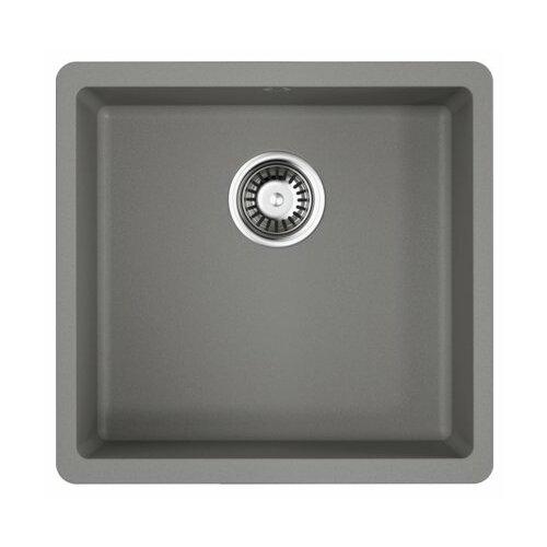 Врезная кухонная мойка 44 см OMOIKIRI Kata 44-U 4993404 ленинградский серый