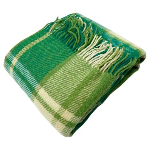 Плед ARLONI Традиция 170 х 200 см, зелeный