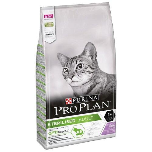 Корм для стерилизованных кошек Purina Pro Plan Sterilised для профилактики МКБ, с индейкой 10 кгКорма для кошек<br>