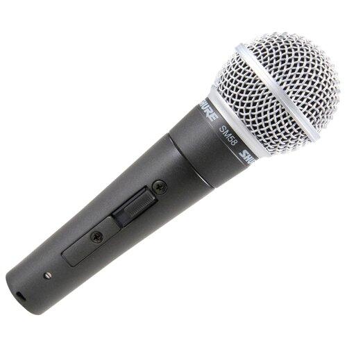 Микрофон Shure SM58S, черный
