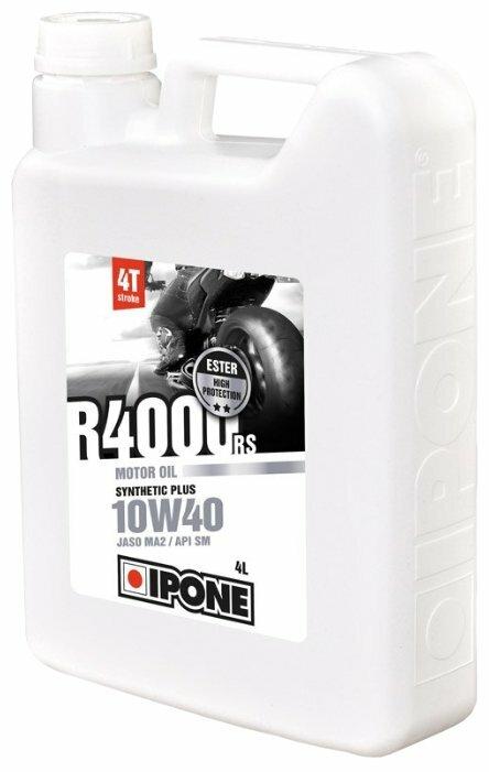 Моторное масло IPONE 4Т R4000 RS 10W40 4л