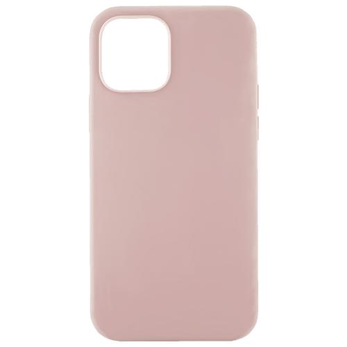 Чехол-накладка uBear Touch Case для Apple iPhone 12 / 12 Pro розовый чехол накладка ubear touch case для apple iphone 7 iphone 8 cream