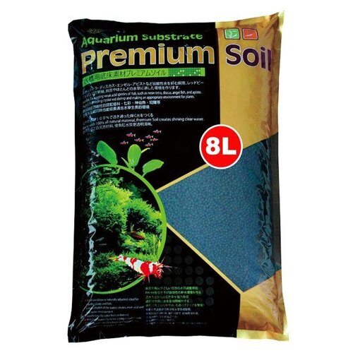 Грунт ISTA Aquarium Substrate Premium Soil 1.5-3.5 мм 8 л серый