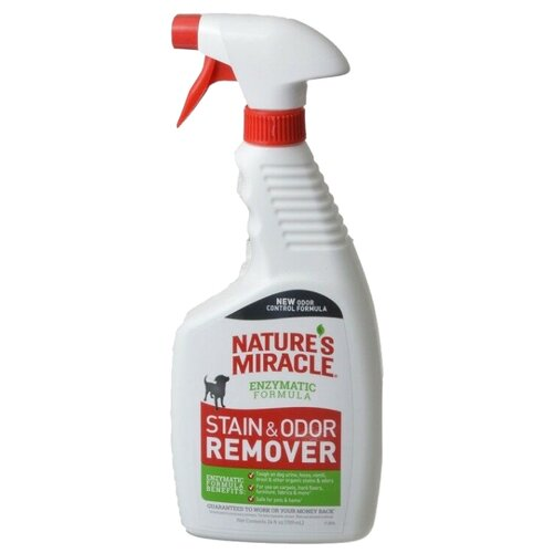 Спрей Nature's Miracle Nature's Miracle Dog Stain & Odor Remover Уничтожитель пятен и запахов от собак 709 мл