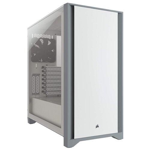 Компьютерный корпус Corsair 4000D Tempered Glass White
