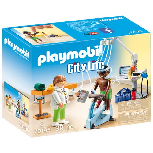Набор с элементами конструктора Playmobil City Life 70195 Физиотерапевт
