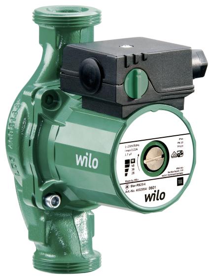Циркуляционный насос Wilo Star-RS 25/6-130 (84 Вт)