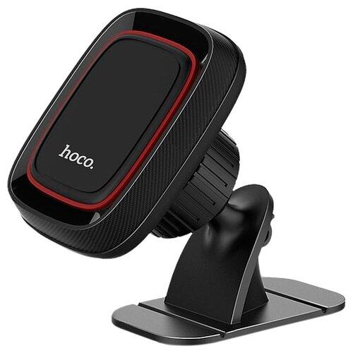 Магнитный держатель Hoco CA24 Lotto черныйДержатели для мобильных устройств<br>