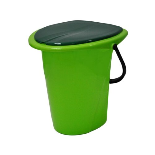 Ведро-туалет InGreen Smart Solution 17 л, 17 л, салатовый