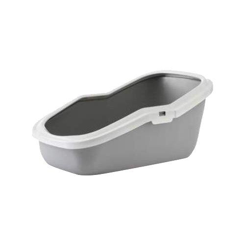 Туалет-лоток для кошек SAVIC Aseo 56х39х27.5 см серый