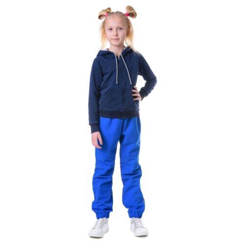 Брюки Sherysheff В19053 размер 170, синий sherysheff сарафан для девочки sherysheff темно синий 140 72 66