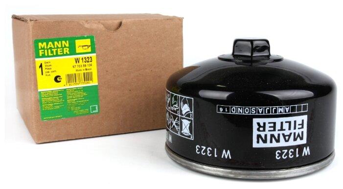 Масляный фильтр MANNFILTER W1323