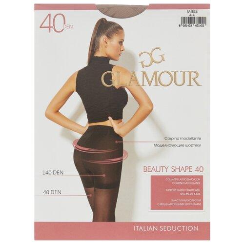 Колготки Glamour Beauty Shape 40 den, размер 4-L, miele (бежевый) колготки glamour beauty shape 40 den размер 4 l daino бежевый
