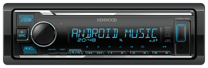 Автомагнитола KENWOOD KMM-125 фото 1