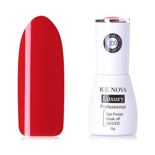 Купить Гель-лак для ногтей ICE NOVA Luxury Professional, 10 мл, оттенок 200