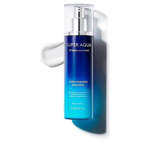 Missha Super Aqua Ultra Hyalron Emulsion увлажняющая эмульсия для лица, 130 мл