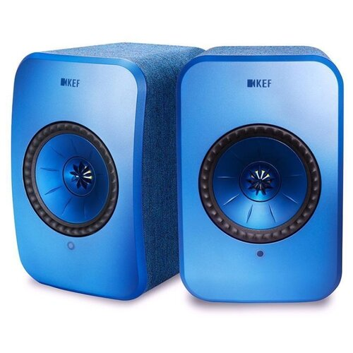 Полочная акустическая система KEF LSX blue