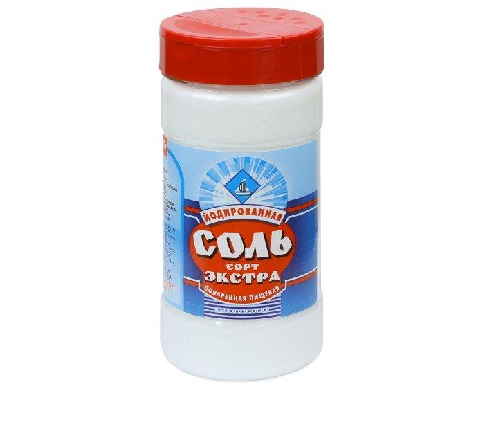 ТДС Соль поваренная, йодированная, экстра, 500 г