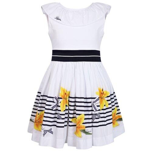 Платье Lapin House размер 104, белый