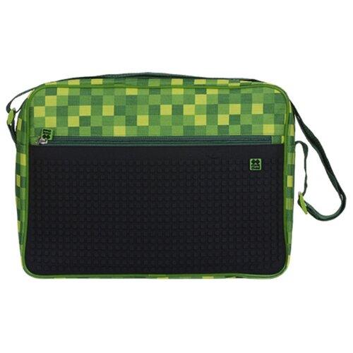 Сумка Pixie Crew PXB-04-D24, текстиль, зелёная клетка