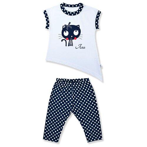Комплект одежды LEO размер 116, синий/белый