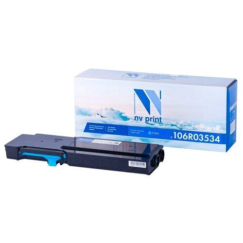 Фото - Картридж NV Print 106R03534 Cyan для Xerox, совместимый картридж nv print 106r02739 для xerox совместимый