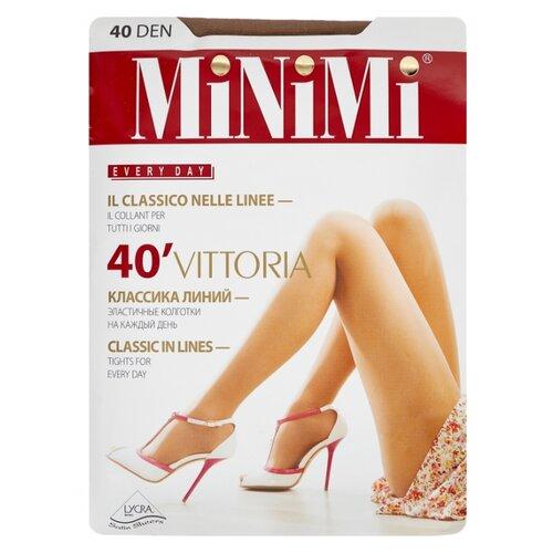 Колготки MiNiMi Vittoria 40 den, размер 5-XL, daino (бежевый) колготки minimi la sfera 20 den размер 5 xl daino бежевый