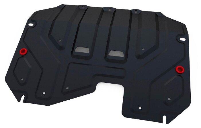 Защита коробки передач и картера двигателя Автоброня 111.02352.1 для Kia, Hyundai