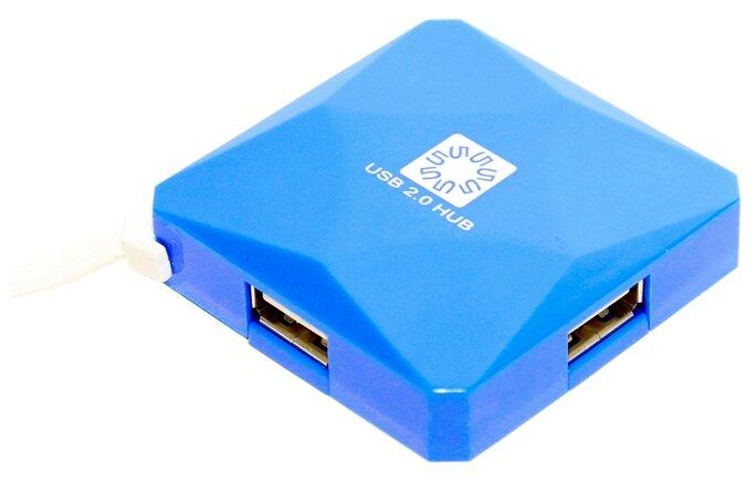 USB-концентратор 5bites HB24-202, разъемов: 4