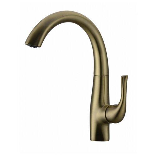 Смеситель для кухни (мойки) KAISER Comba 48033-1 Bronze однорычажный бронза
