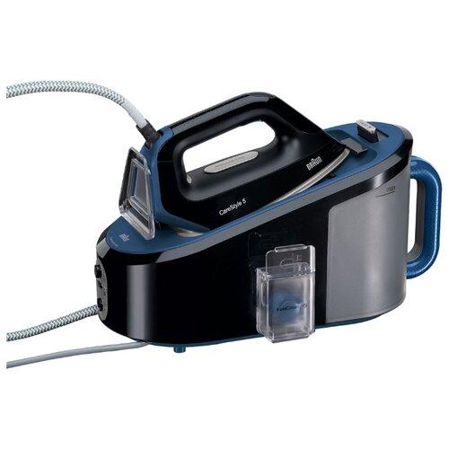 Парогенератор Braun IS 5145 CareStyle 5 черный/синий electric irons braun carestyle 3 is3022 wh control lock removable steam iron steamer