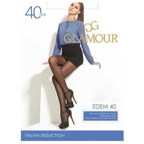 Колготки Glamour Edem 40 den, размер 3-M, daino (коричневый) колготки glamour prestige 40 daino