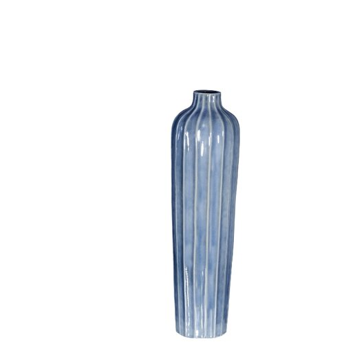 Ваза Home Philosophy Cassian (F51705), голубой