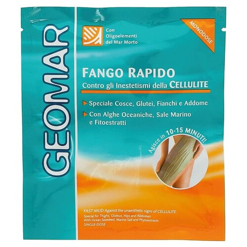 Грязь Geomar антицеллюлитная Быстрое действие 80 млСредства для похудения и борьбы с целлюлитом<br>