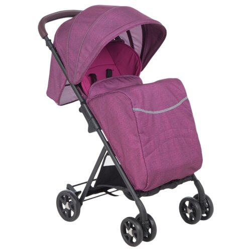 Прогулочная коляска McCan LIA розовый/черная рама, цвет шасси: черный прогулочная коляска mccan lia