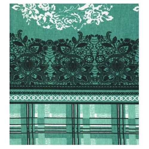 Скатерть Текстильная лавка Сплетение (Скр_150_11) 150х150 см зеленый