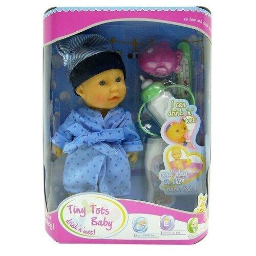 Купить Пупс Shantou Gepai Tiny Tots Baby 23 см 15154-2, Куклы и пупсы