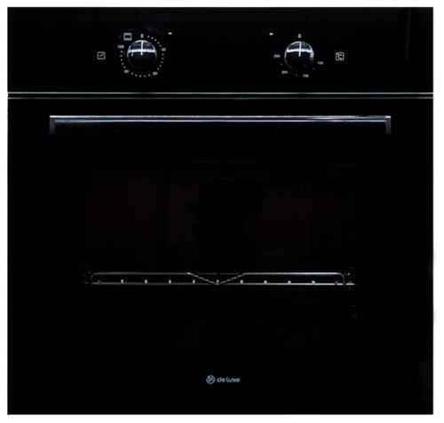 Духовой шкаф De luxe 6003.01 эшв-070 черный