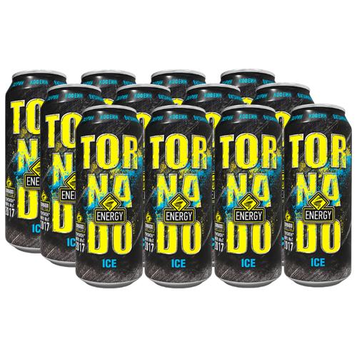 Энергетический напиток Tornado Energy Ice, 0.45 л, 12 шт.
