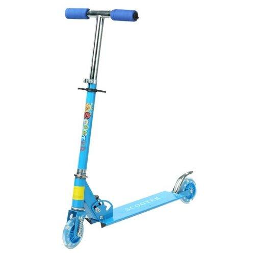 Городской самокат S+S Toys 200003213 голубой