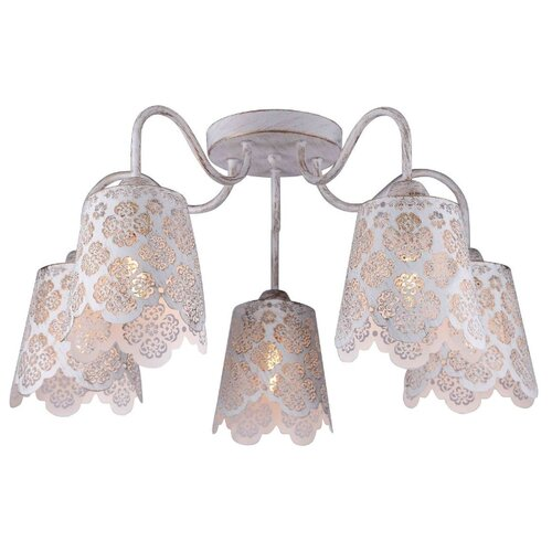 Фото - Потолочная люстра Arte Lamp A2032PL-5WG люстра потолочная arte lamp gelo a6001pl 9bk