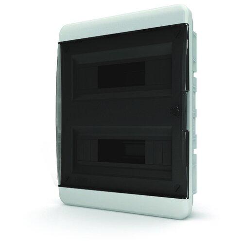 Щит распределительный Tekfor BVK 40-24-1 встраиваемый, пластик, модулей 24 Белый RAL 9016