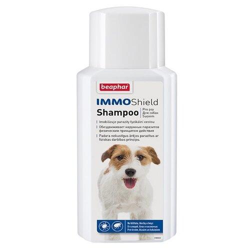 Beaphar шампунь от блох и клещей IMMO Shield Shampoo для собак и щенков 200 мл