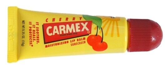Carmex Бальзам для губ Cherry Вишня SPF15 туба, 10 г
