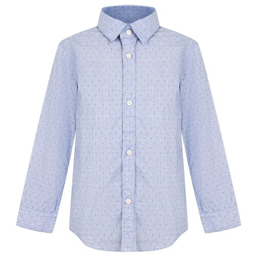 Купить Рубашка Mayoral размер 92, голубой, Футболки и рубашки