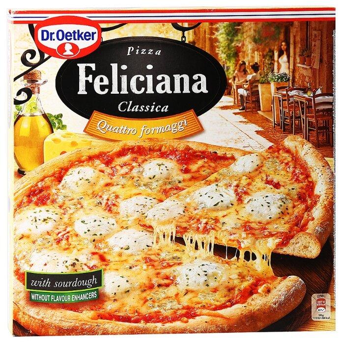 Dr. Oetker Замороженная пицца Feliciana Classica Четыре сыра 325 г