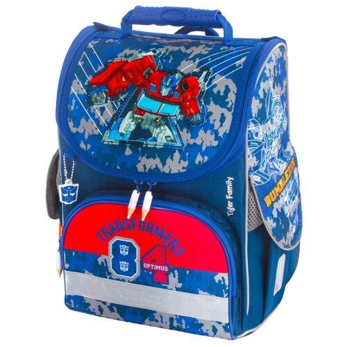 TIGER FAMILY Ранец Nature Quest Optimus Prime (228971), синий/красный
