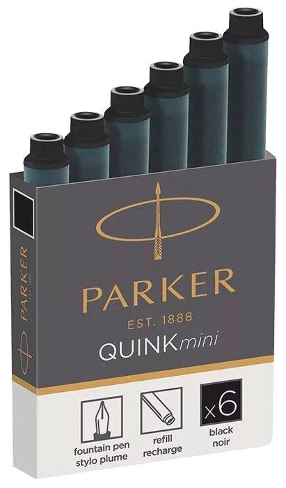 Картридж для перьевой ручки PARKER Quink Z17 Mini (6 шт.)